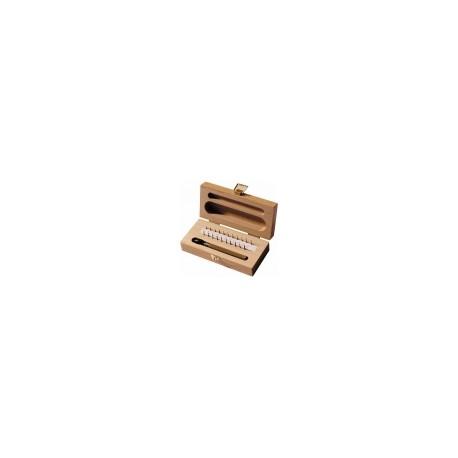 Alésoir gicleur à l'unité de 0.35 à 1.90mm