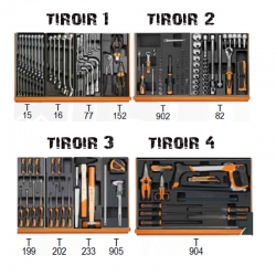 Composition 180 outils 5988VI/15T-L PROMO EXCLUSIVE