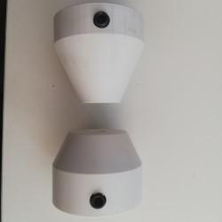 Adaptateurs pour équilibrage roues de Piaggio MP3